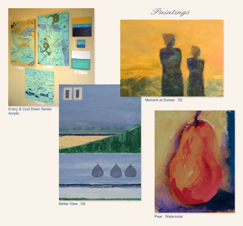 Monotypes by Diane Brinker